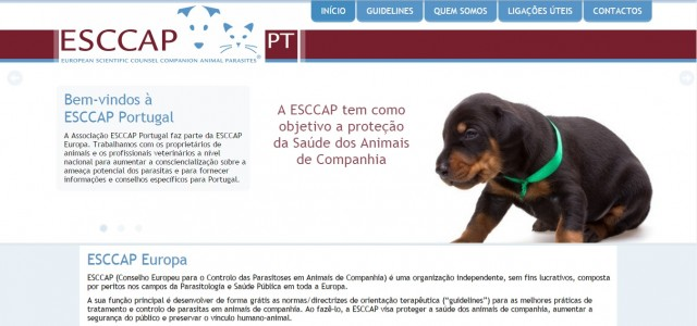 New website for ESCCAP Portugal