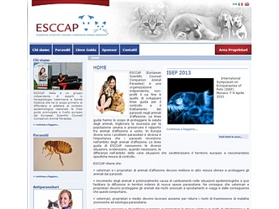 ESCCAP Italy new website